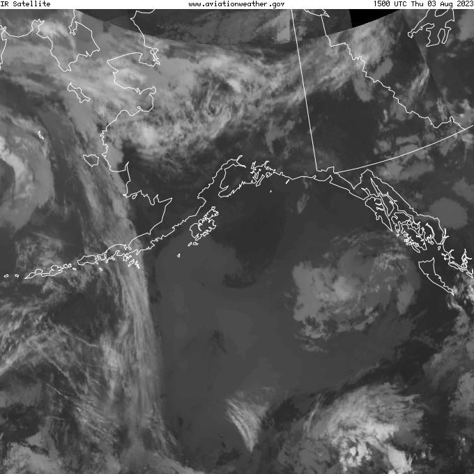 GOES - infrared - Alaska