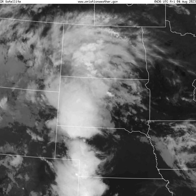 GOES - infrared - Pierre South Dakota