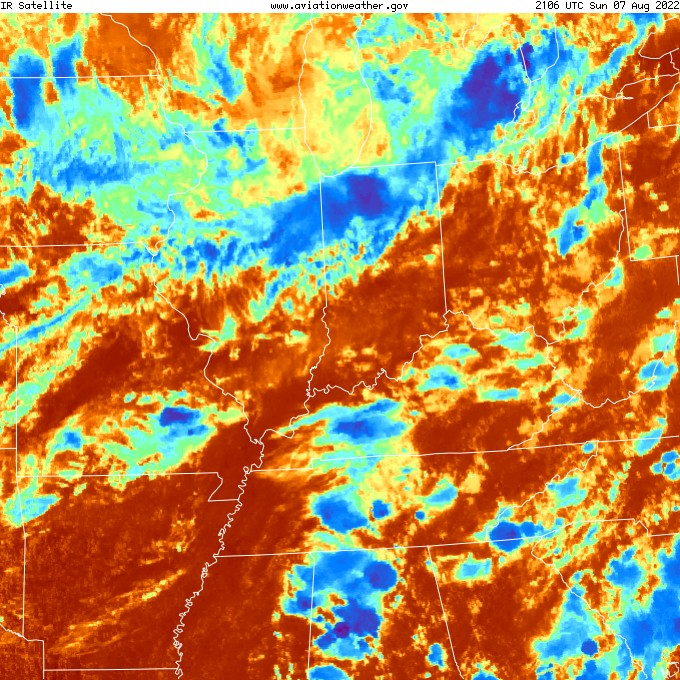 IR Satellite Image