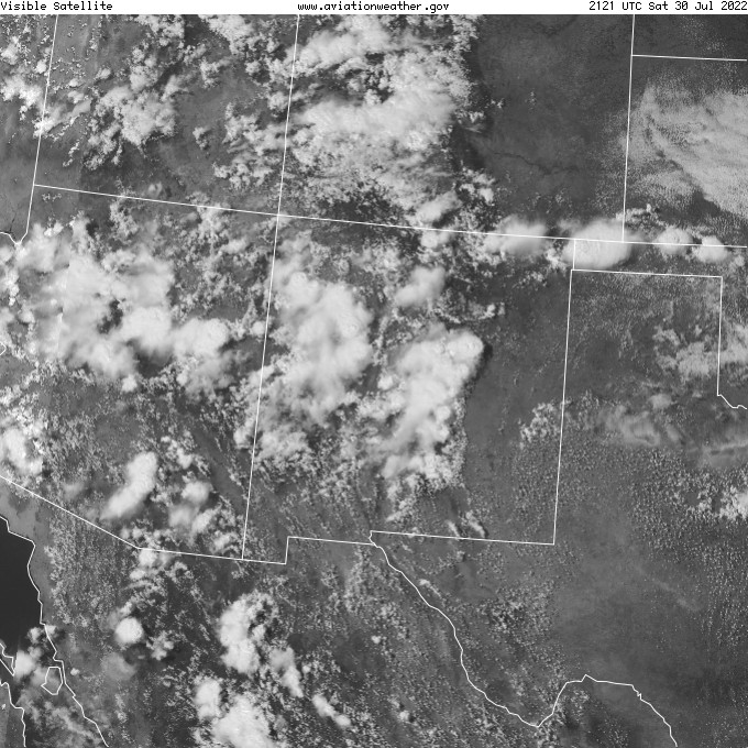 Southwest Visible Satellite Image