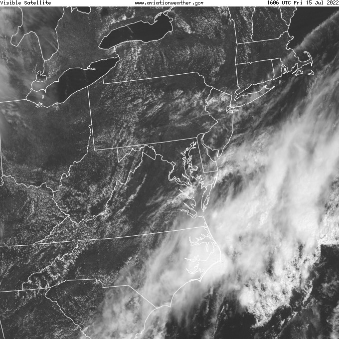 GOES - visible - Baltimore Maryland