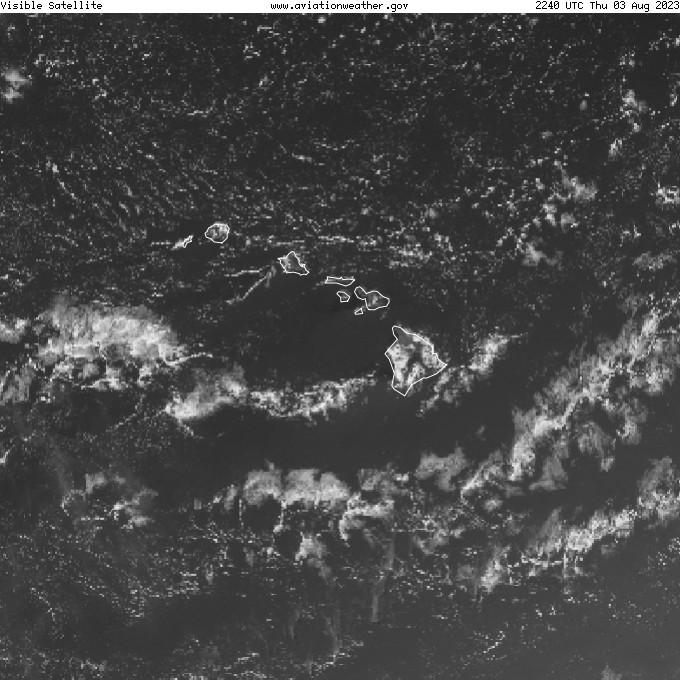 GOES - visible - Hawaii